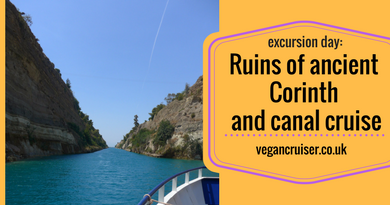 Corinth cruise canal excursion