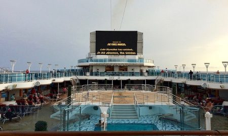 Royal Princess Movies under the Stars lido deck