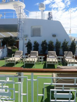 Caribbean Princess Sanctuary adult only deck