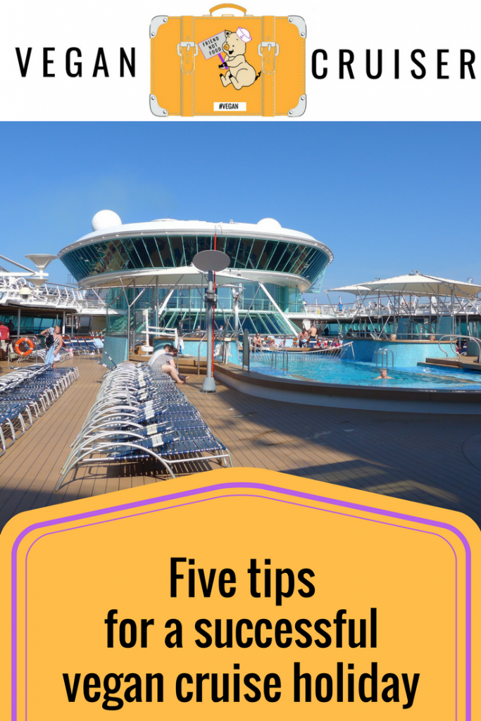 Vegan cruise holiday tips