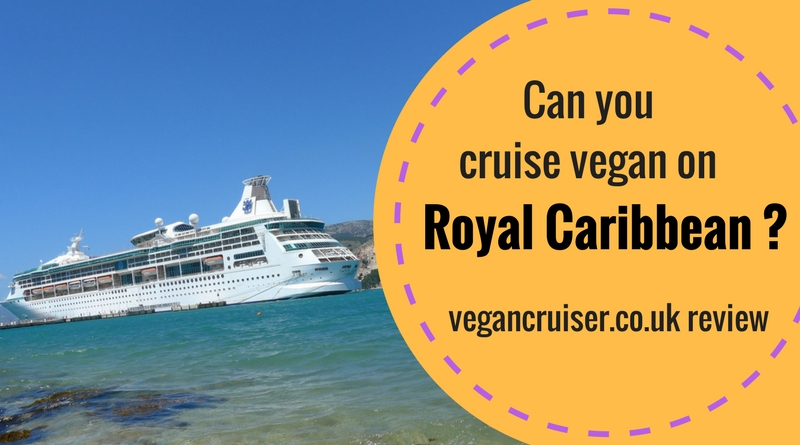 can you cruise vegan on Royal Caribbean