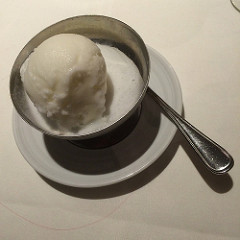 royal caribbean vegan sorbet