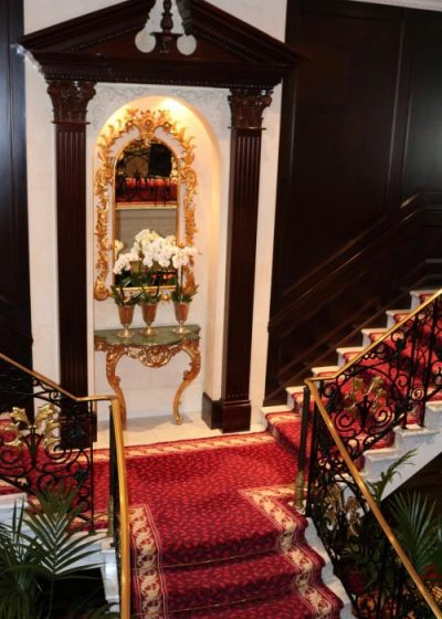 Oceania Cruises Grand Staircase
