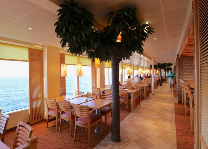 Carnival Horizon Marketplace buffet