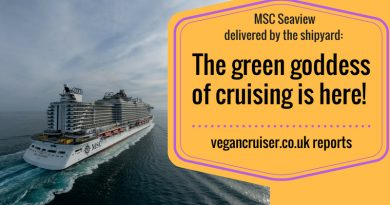 MSC Seaview a green vegan goddess of a ship