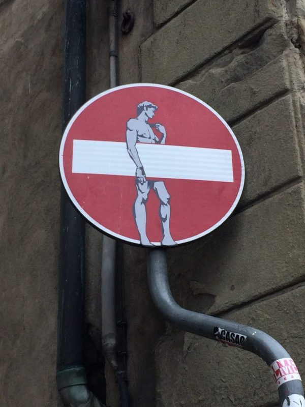 Florence Clet street art