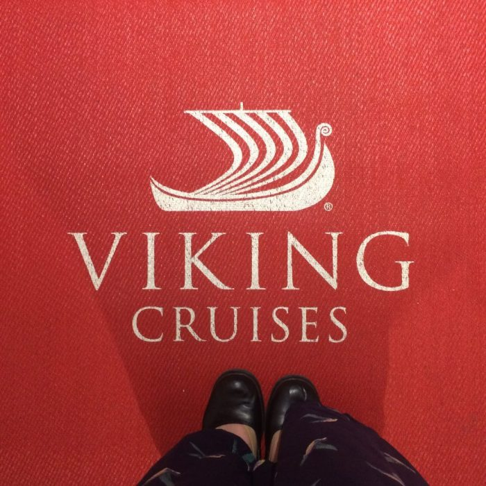 Viking Ocean Cruises welcome mat