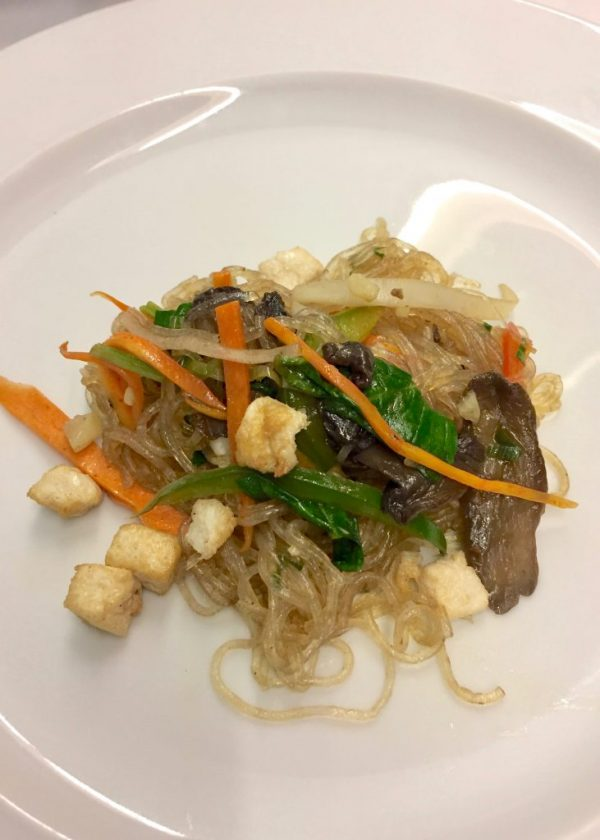 Marella Dream vegan noodle tofu stir fry