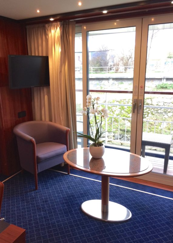 Thurgau Ultra best suite lounge river cruise Basel