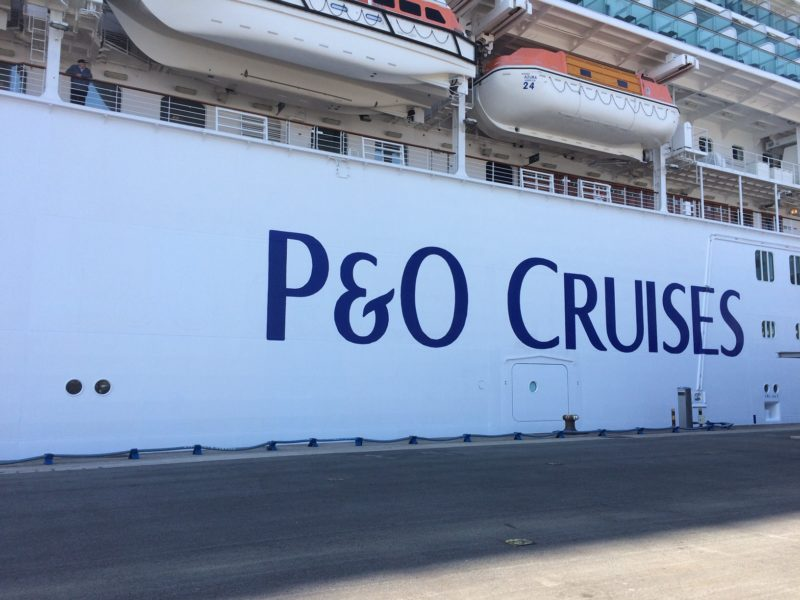 P&O vegan menu blog post