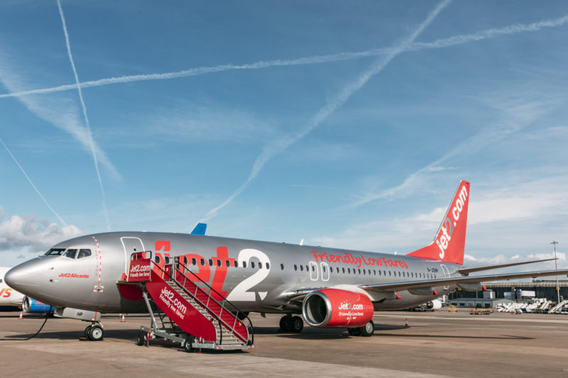 Jet2 vegan menu aircraft by PR team