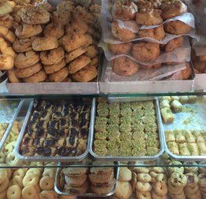 Vegan baklava Rosie's Bakery Corfu