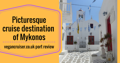 Mykonos port cruise review vegancruiser