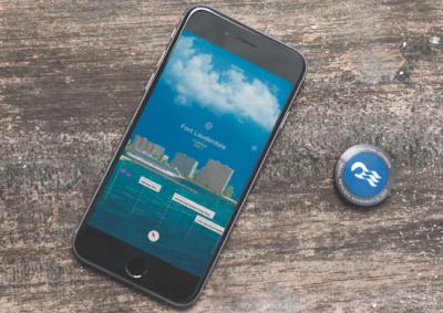 Ocean Medallion Princess Cruises smartphone and medallion