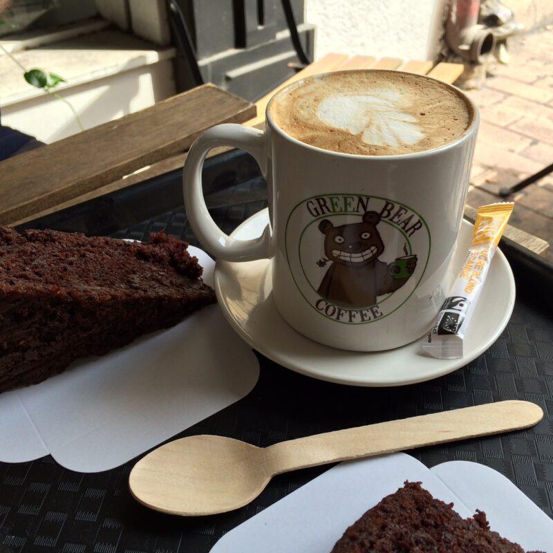 Green Bear coffee vegan