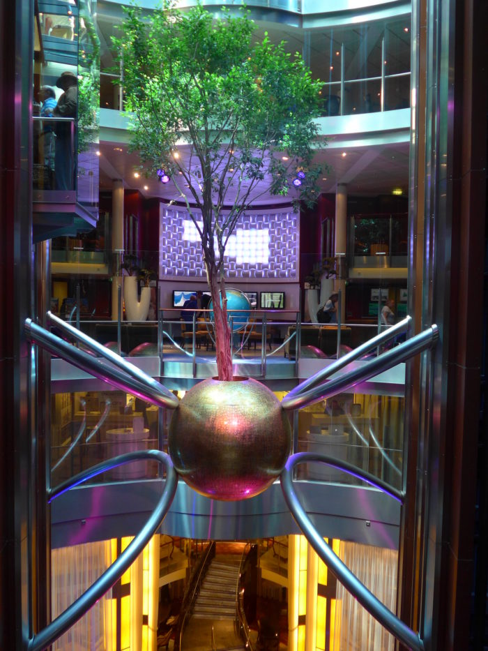 Celebrity Eclipse Atrium tree
