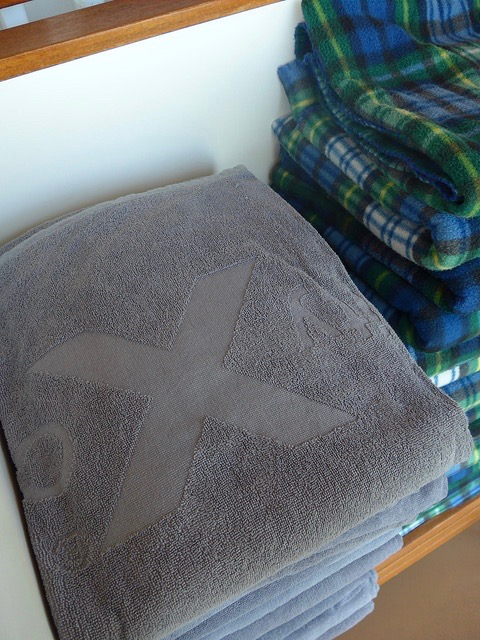 Lawn Deck complimentary towels & picnic blankets