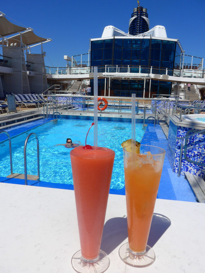 Lido drinks Celebrity Cruises