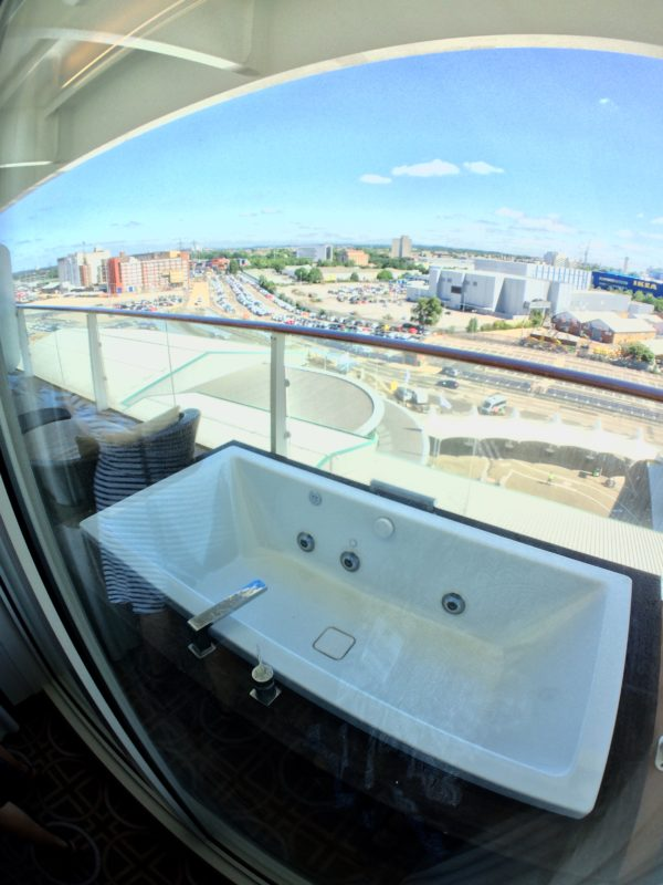 Eclipse Royal Suite balcony jacuzzi