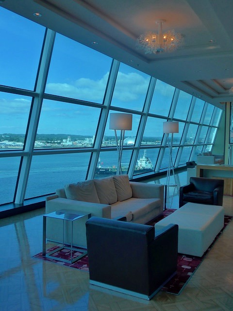 Sky Bar Lounge Celebrity Eclipse seating