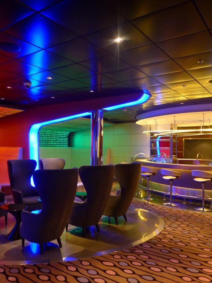 Eclipse night club seating