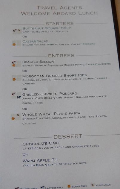 day visit MDR menu