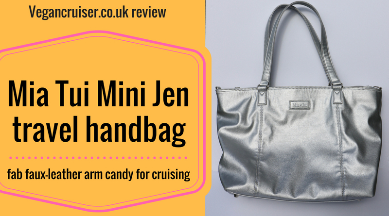 Vegancruiser Mia Tui Mini Jen travel handbag review