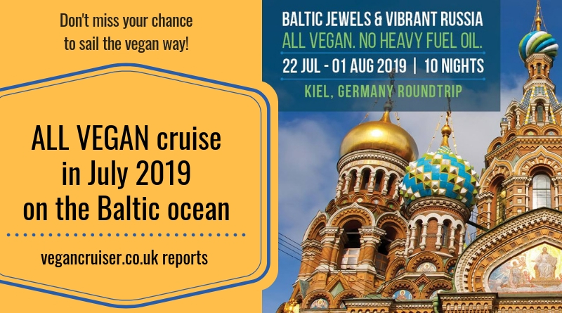 Vegan Baltic cruise with Vegan Travel in 2019