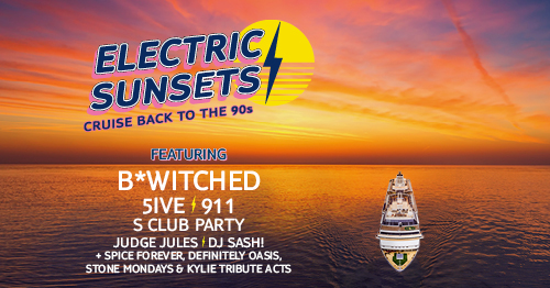 Marella Electric Sunsets 90s cruise lineup