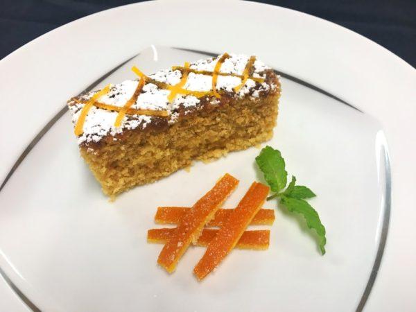 Azamara vegan menu cake