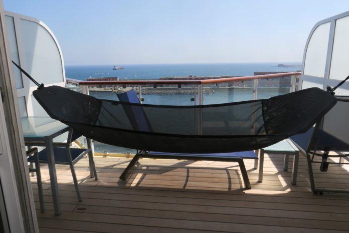 Marella Explorer hammock