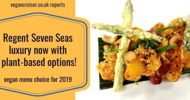 Regent Seven Seas plant-based options vegan menu featured image