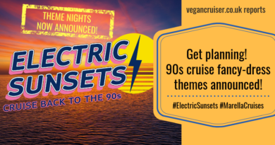 Electric Sunsets Marella 90s cruise themes announcement