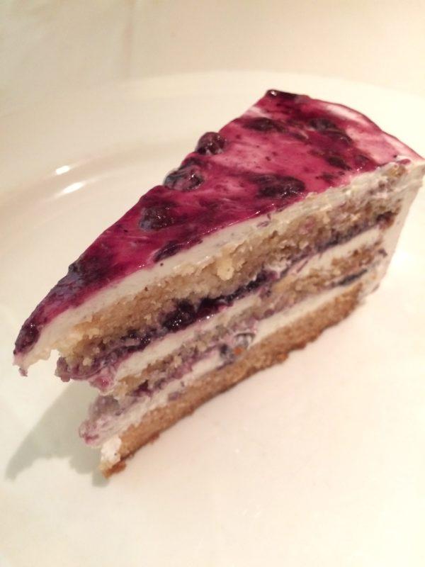 Vegan cake Crown Princess Cruises