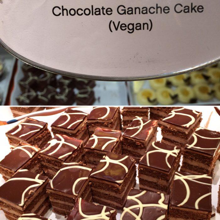vegan chocolate ganache gake Crown Princess
