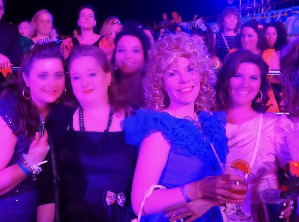 vegancruiser on 2015 NKOTB cruise theme night 80s Prom