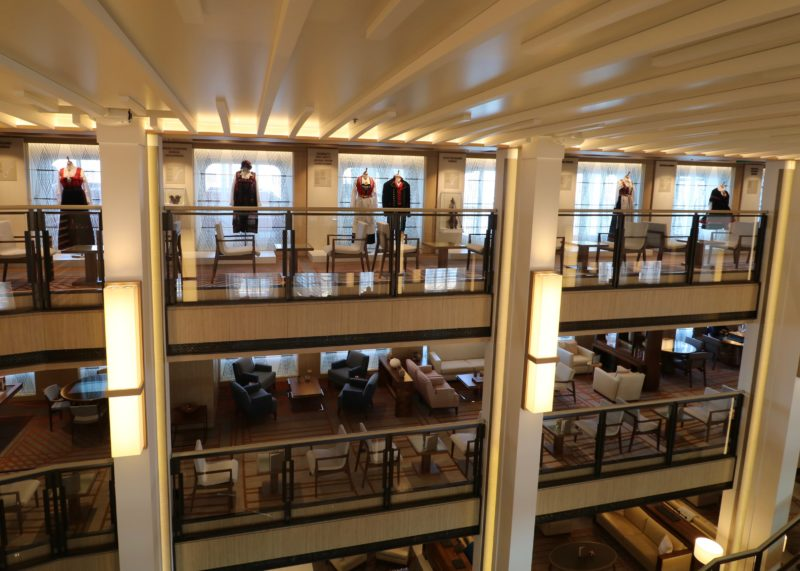 Viking Jupiter three story atrium
