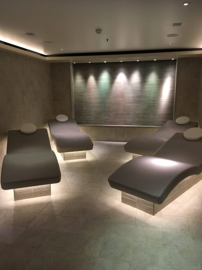 Heated hot stone loungers Viking Jupiter Spa