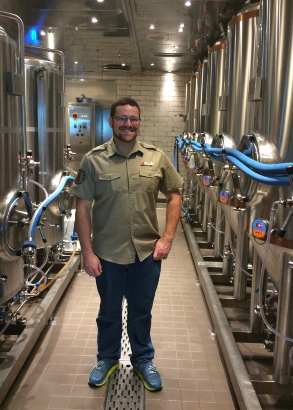 Brewmaster Colin at Carnival Horizon