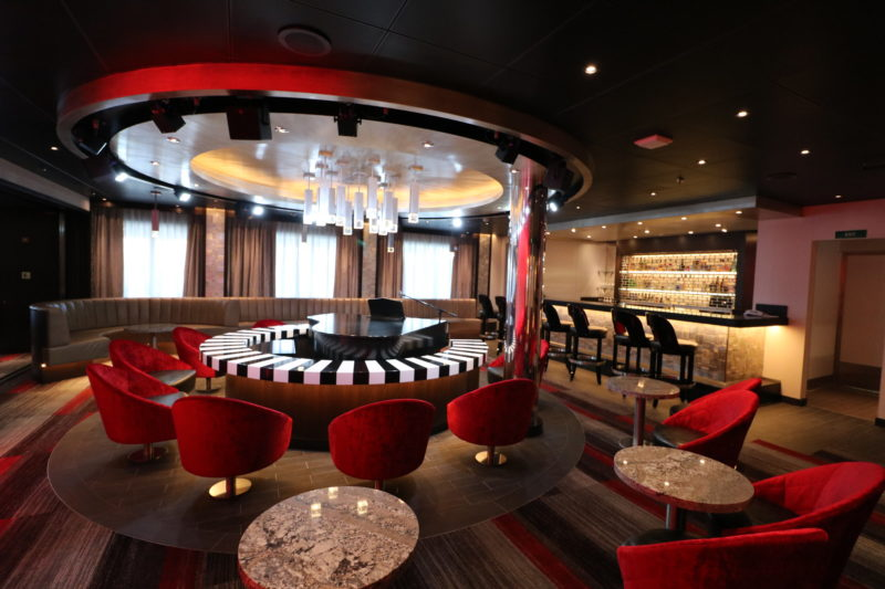 Carnival Panorama Piano Bar on sister ship Horizon
