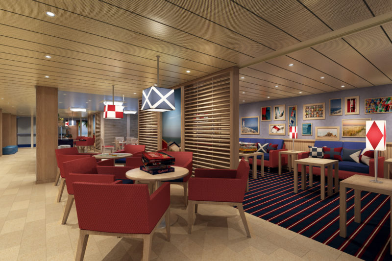 Carnival Family Harbor lounge PR image