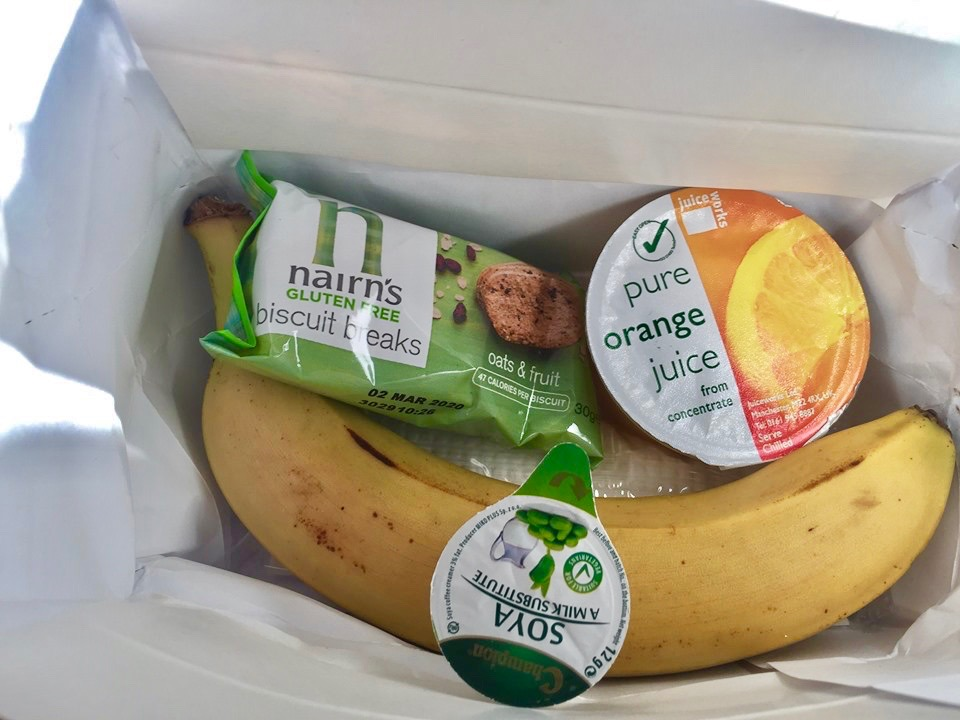 Jet2 vegan breakfast