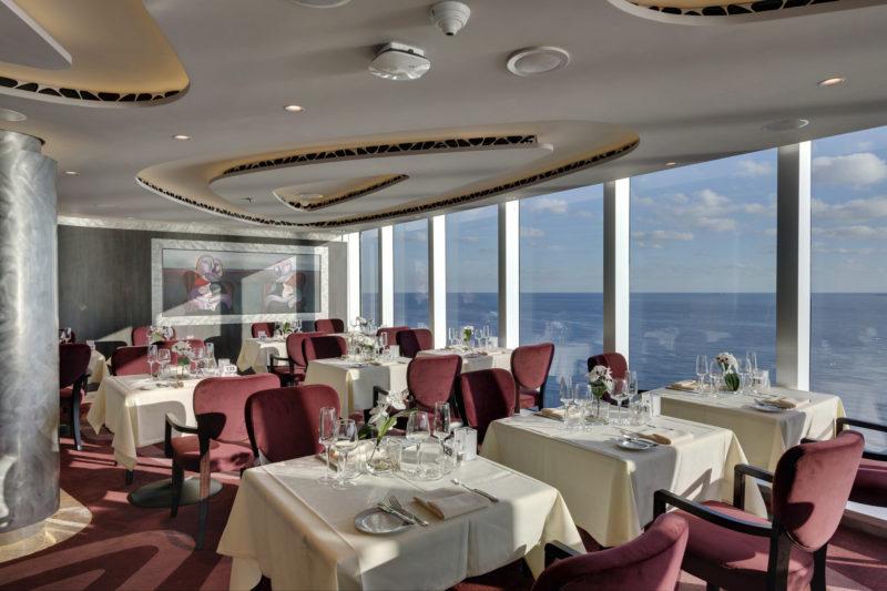 MSC seaview Yacht Club Restaurant