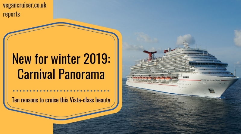 Carnival Panorama new for 2019 featured image vegancruiser blog