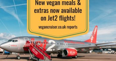 New Jet2 vegan meals added options out summer 2019