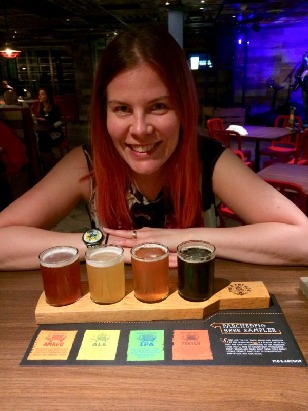 Vegancruiser beer sampler vegan inhouse brews