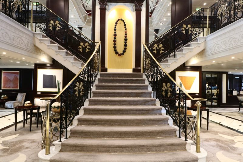 Azamara Journey atrium staircase