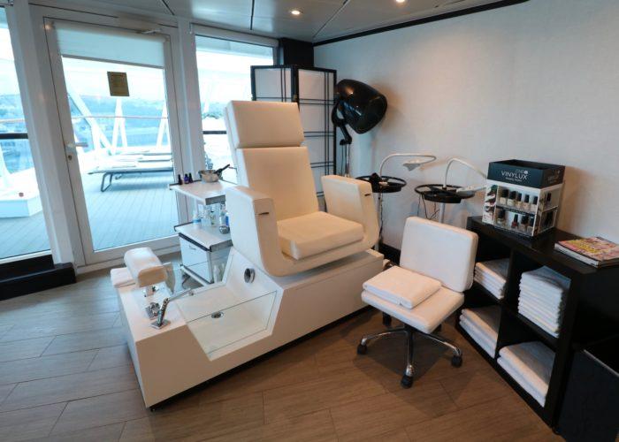 Azamara Journey salon and nail bar