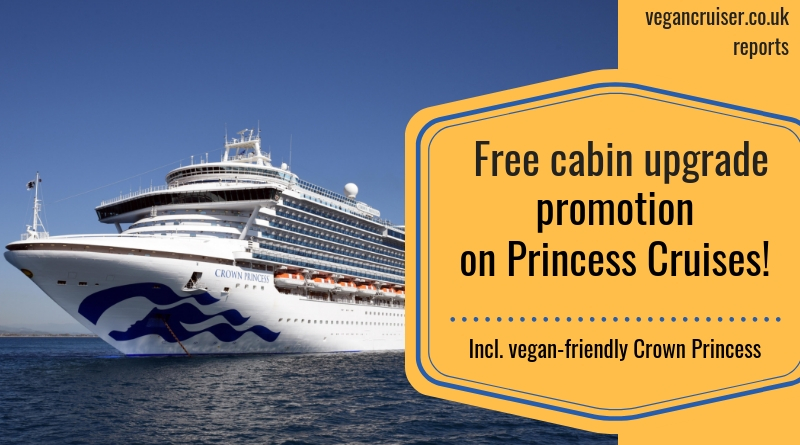 free cabin upgrades Princess Cruises