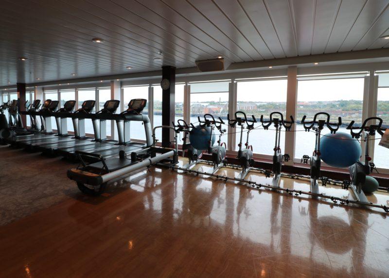 Azamara Journey gym